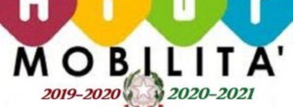 MOBILITA' DIRIGENTI SCOLASTICI 2019/2020