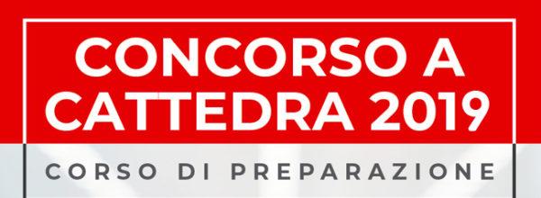 CORSO DI PREPARAZIONE ONLINE CONCORSO ORDINARIO E STRAORDINARIO PER DOCENTI SCUOLE SECONDARIE